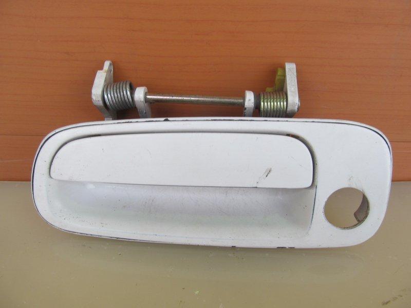 Ручка двери наружная Toyota Vista Sv30 SV30 1991 передняя левая