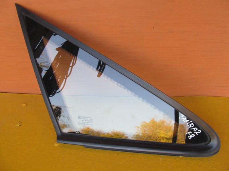 Форточка кузова Opel Zafira A 2001 передняя правая