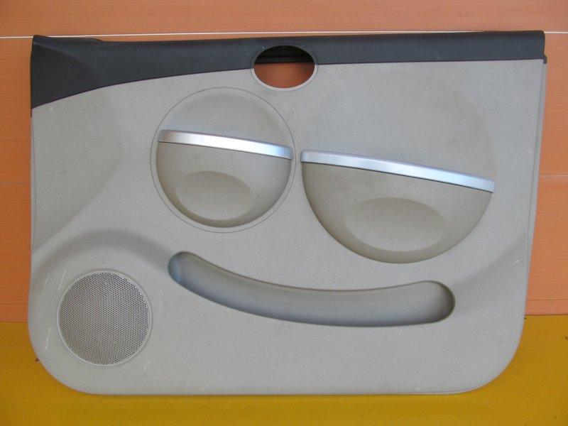 Обшивка двери Lifan Smily 2011 передняя правая