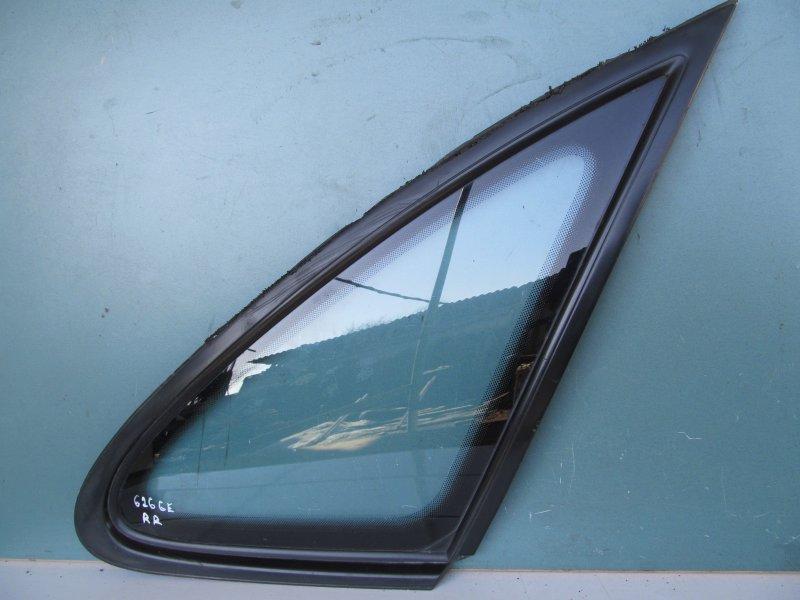 Форточка кузова Mazda 626Ge ХЕТЧБЭК 1995 задняя правая