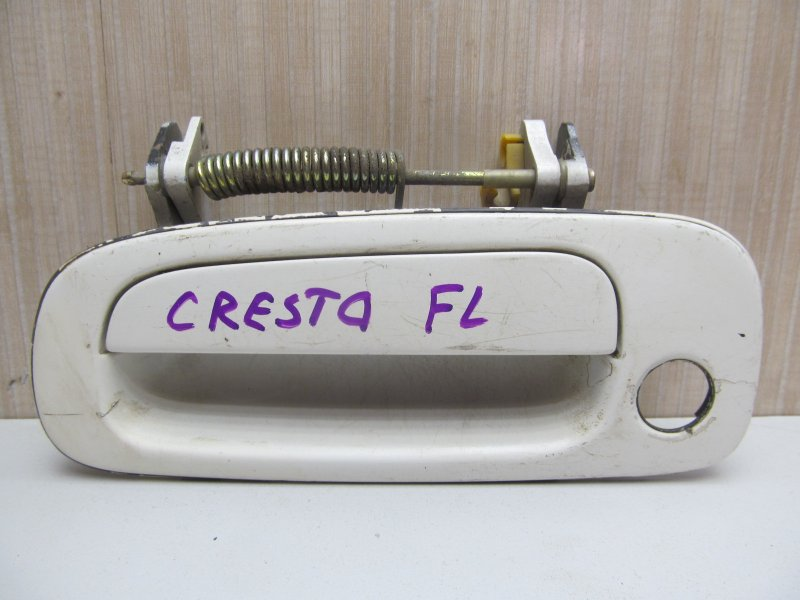 Ручка двери наружная Toyota Cresta Gx90 передняя левая