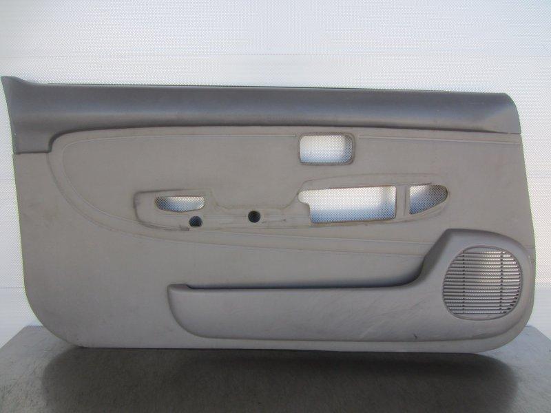 Обшивка двери Nissan March K11 КУПЕ 1998 левая