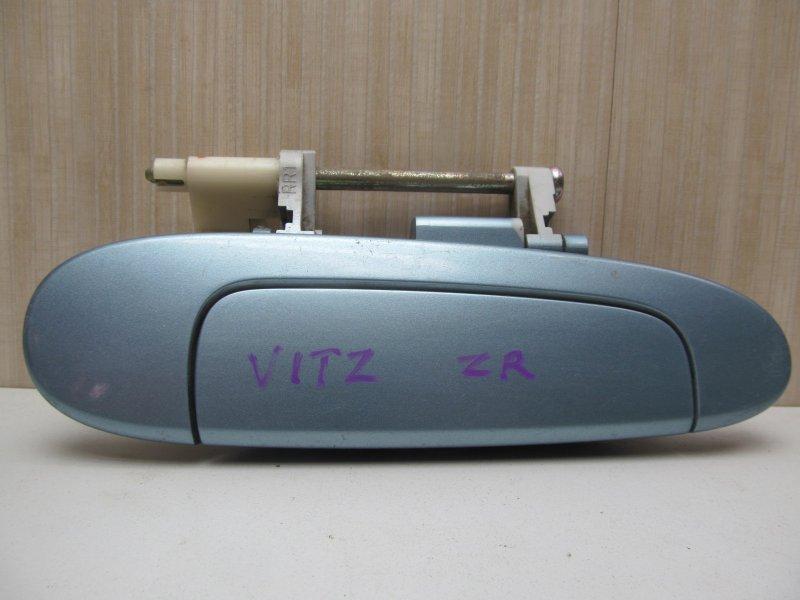 Ручка двери наружная Toyota Vitz Scp10 2001 задняя правая