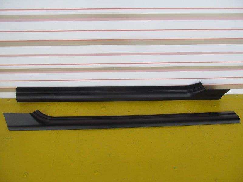 Порог внутренний декоративный пластиковый Bmw E46 КУПЕ M54B25 2000
