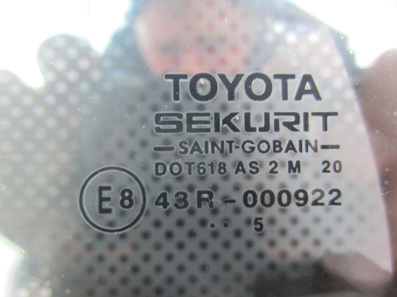 Форточка двери Toyota Corolla 120 ХЕТЧБЭК 2005 задняя левая