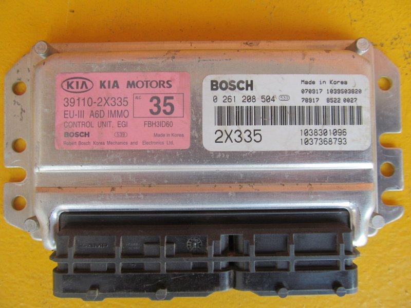 Эбу двс Kia Spectra S6D (1.6) 2008