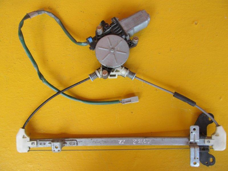 Стеклоподъёмник Honda Civic 7 2001 задний правый