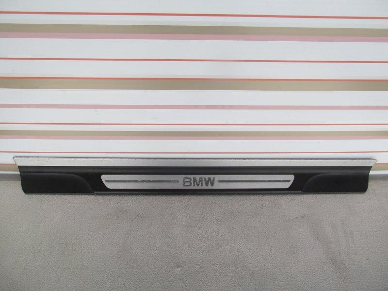 Порог внутренний декоративный пластиковый Bmw E46 КУПЕ M54B25 2000 правый