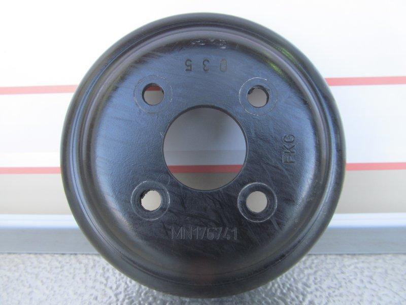 Шкив помпы Mitsubishi Lancer X 4A91 2009