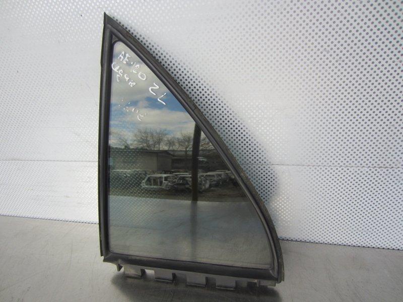 Форточка двери Toyota Corolla 120 СЕДАН 2005 задняя левая