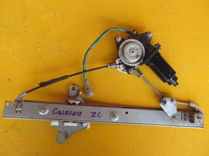 Стеклоподъёмник Toyota Caldina 190 1997 задний левый