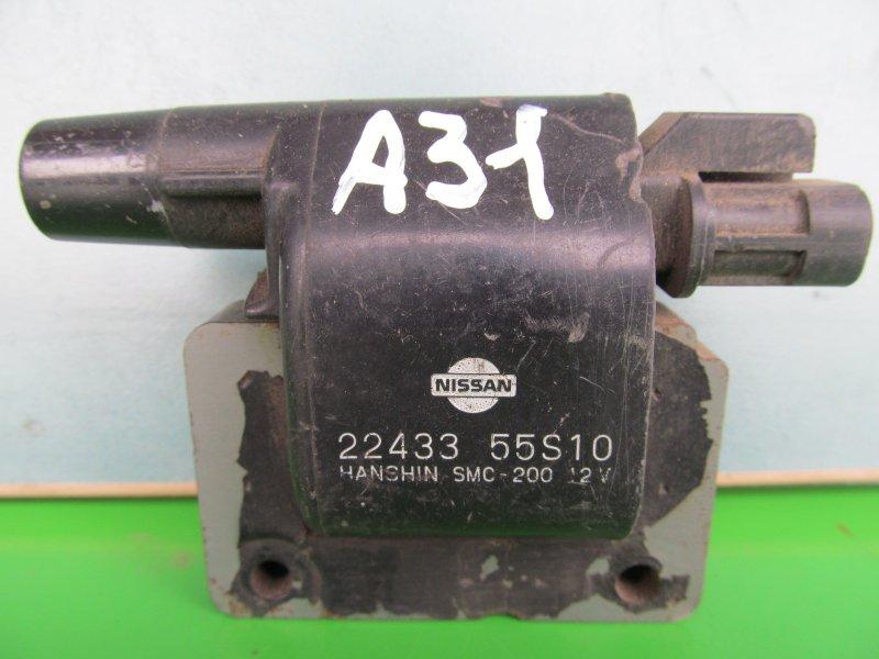 Катушка зажигания Nissan Cefiro A31 RB20 1990