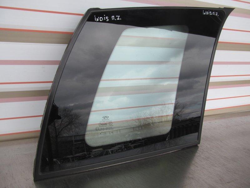 Форточка кузова Chery Indis S18 2013 задняя правая