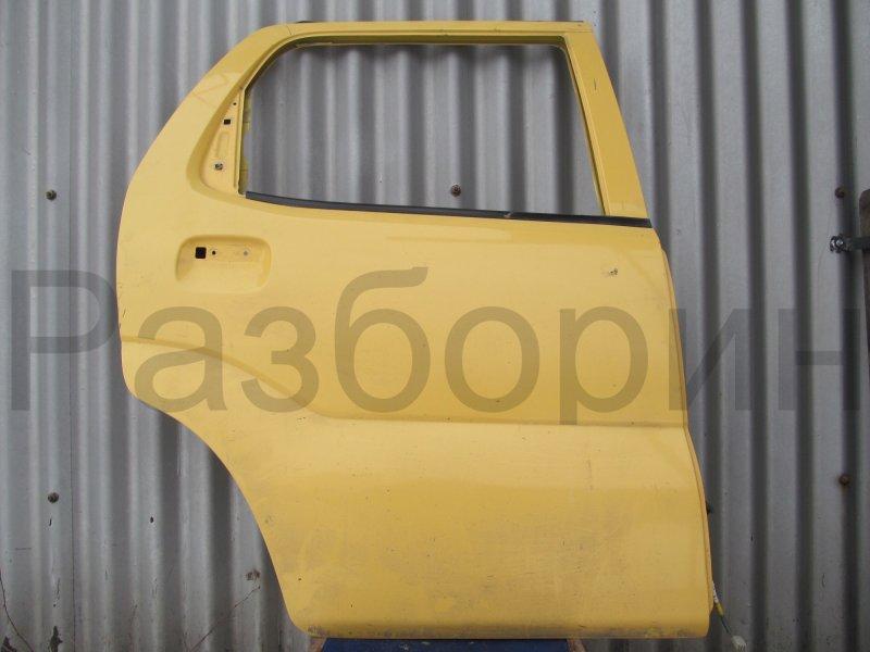 Дверь Suzuki Ignis M13A 2002 задняя правая