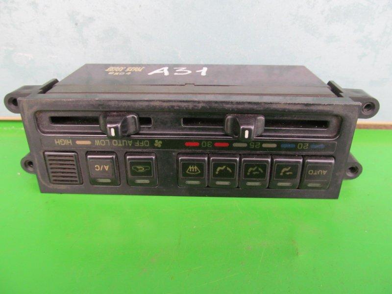 Блок управления печкой Nissan Cefiro A31 1990