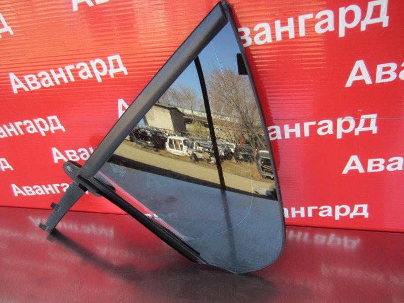 Форточка двери Skoda Rapid 2014 задняя левая