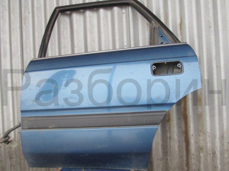 Дверь Mazda 626Gd СЕДАН 1990 задняя левая