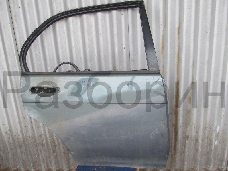 Дверь Toyota Corsa L40 EL43 5E-FE 1992 задняя правая
