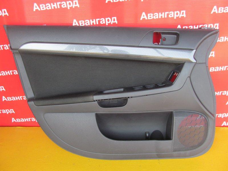Обшивка двери Mitsubishi Lancer X передняя левая