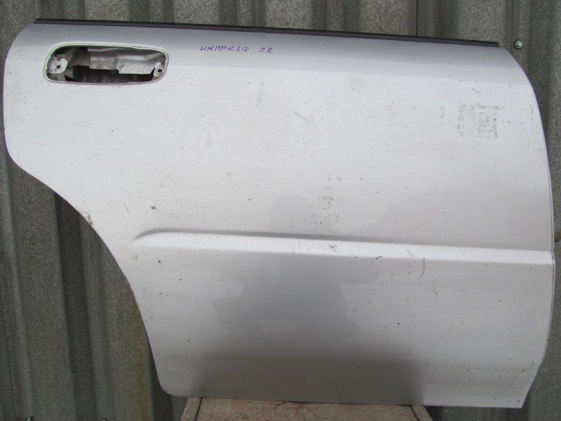 Дверь Subaru Impreza Gg 2003 задняя правая
