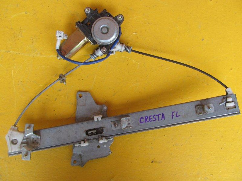 Стеклоподъёмник Toyota Cresta Gx90 передний левый