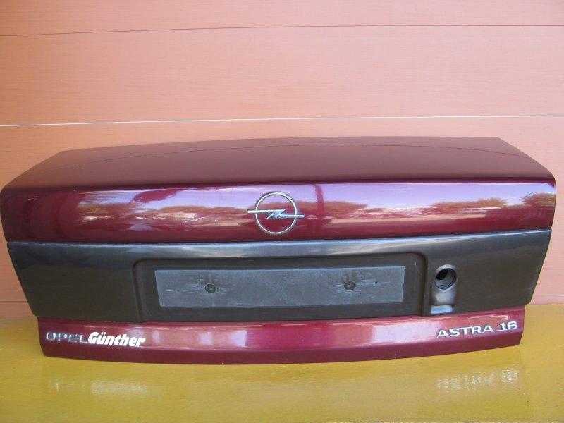 Крышка багажника Opel Astra F СЕДАН 1997