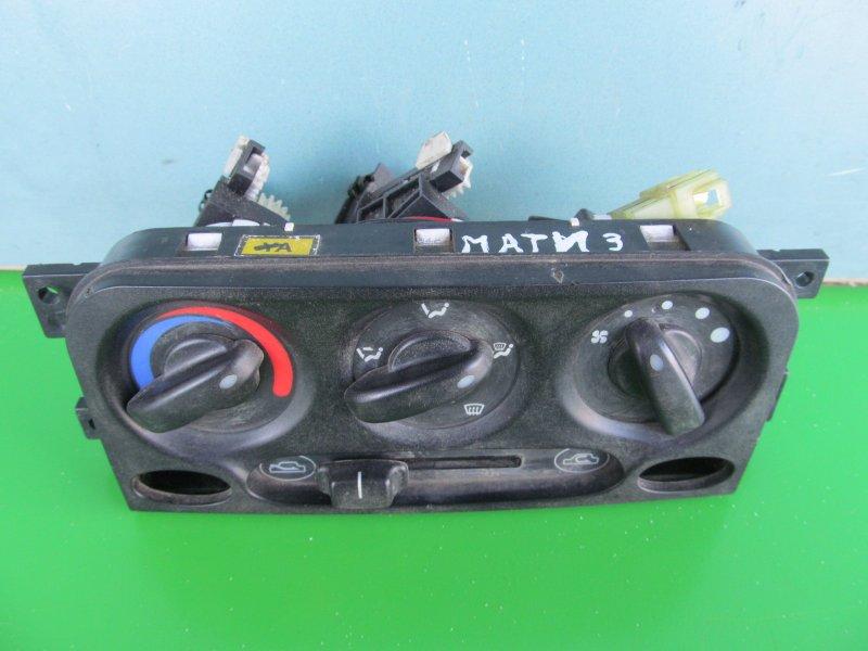 Блок управления печкой Daewoo Matiz 2008