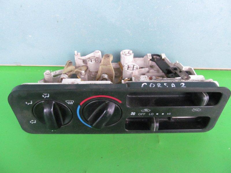 Блок управления печкой Toyota Corsa L50 EL51 4E-FE 1997