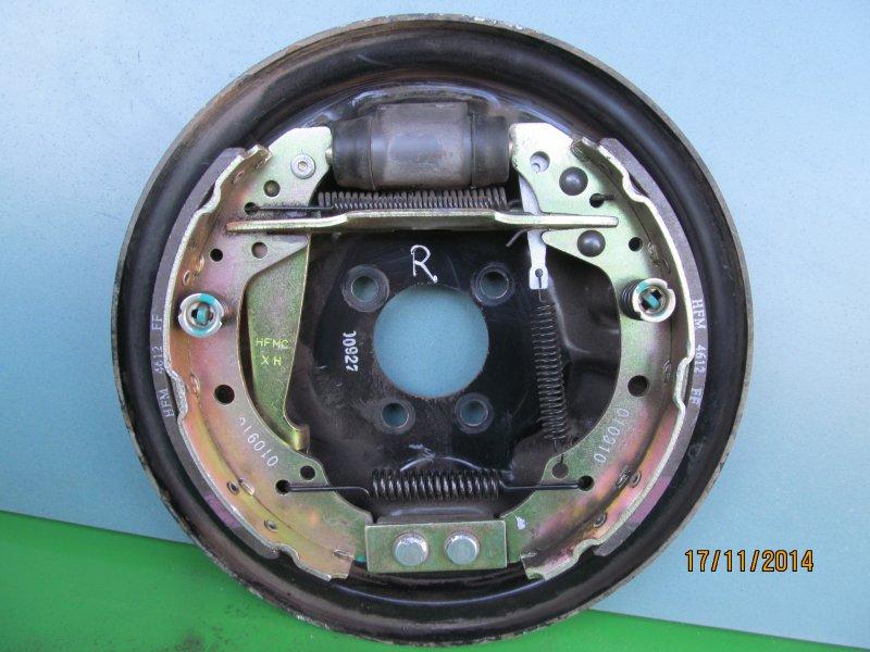Тормозной щит Vortex Corda 2011 задний правый