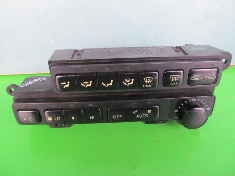 Блок управления печкой Toyota Cresta Gx90