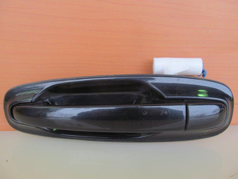 Ручка двери наружная Chevrolet Lacetti 2007 задняя левая