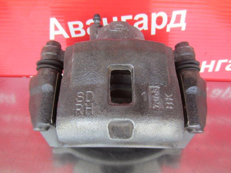 Суппорт тормозной Kia Spectra 2008 передний правый