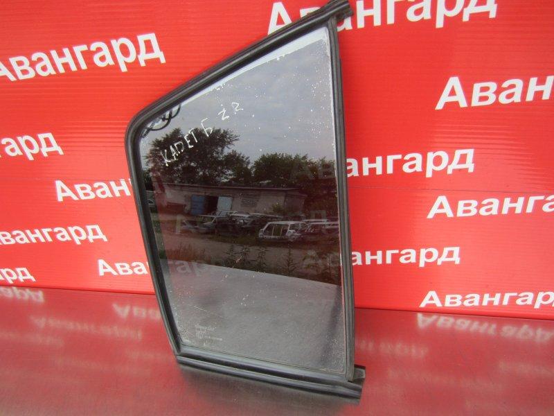 Форточка двери Opel Kadett ХЕТЧБЭК 1988 задняя правая