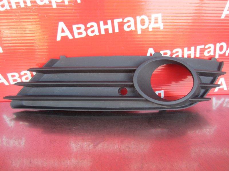 Накладка бампера Opel Astra H GTC Z18XER 2006 передняя левая