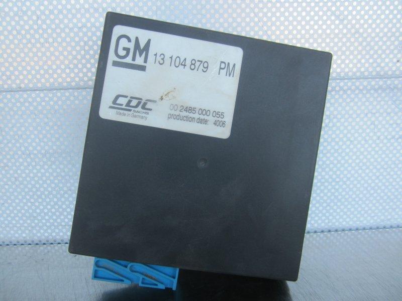 Блок управления cdc Opel Astra H GTC Z18XER 2006