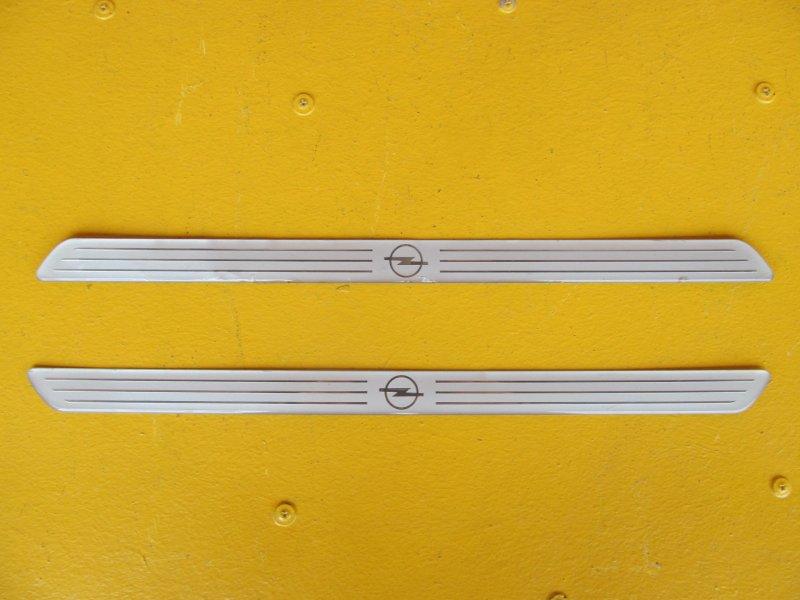 Накладка порога внутренняя декоративная Opel Zafira A 2002