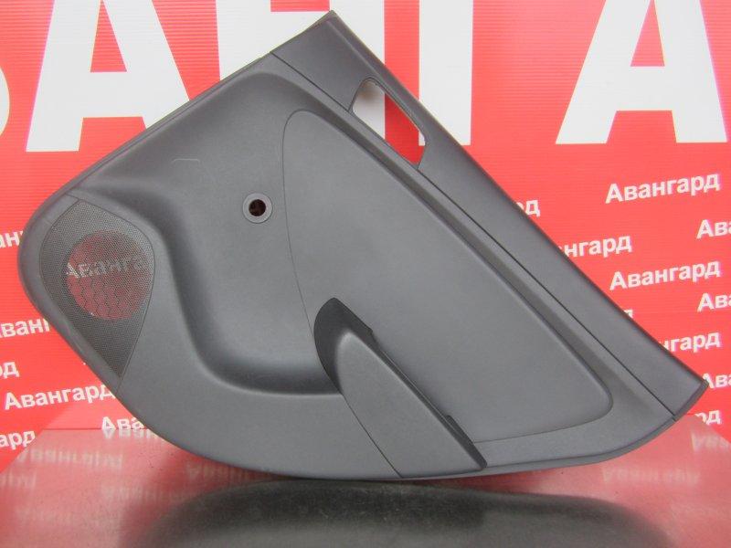Обшивка двери Hyundai Solaris 2011 задняя правая
