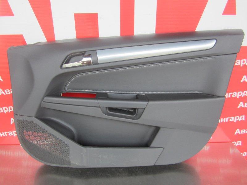 Обшивка двери Opel Astra H СЕДАН 2011 передняя правая