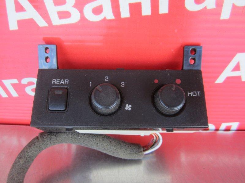 Блок управления печкой Mitsubishi Pajero 3 КУПЕ 6G74 (GDI) 2003 задний