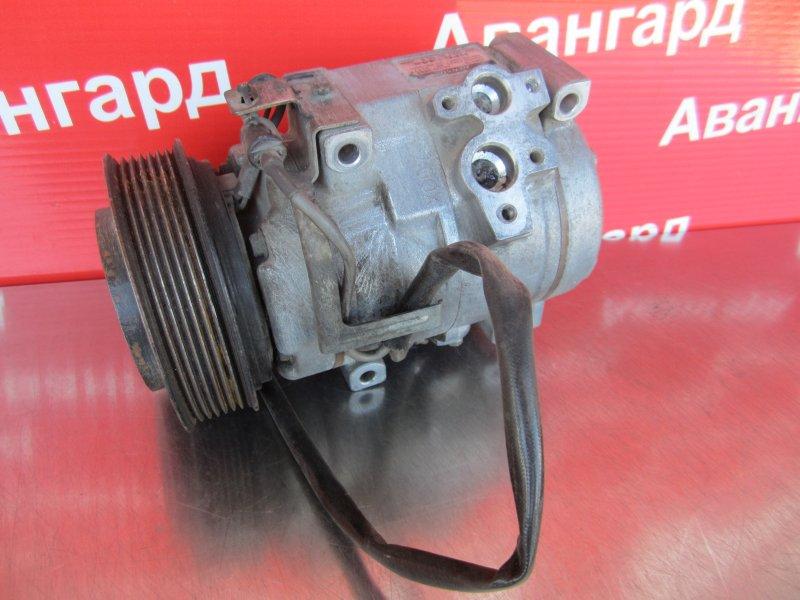 Компрессор кондиционера Mitsubishi Pajero 3 КУПЕ 6G74 (GDI) 2003