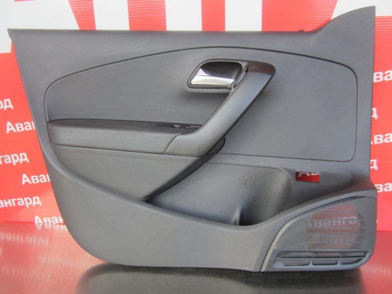 Обшивка двери Volkswagen Polo СЕДАН 2017 передняя левая
