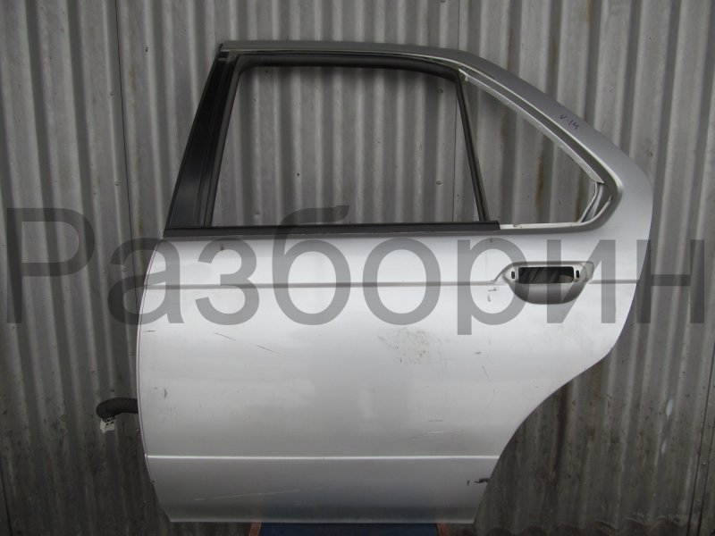 Дверь Nissan Bluebird U14 U14 1998 задняя левая