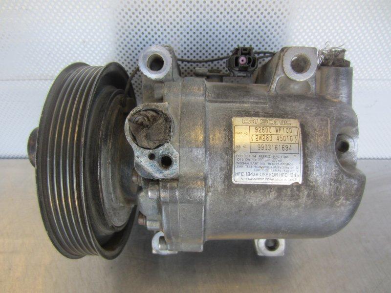 Компрессор кондиционера Nissan Liberty M12 PM12 SR20DE 1999