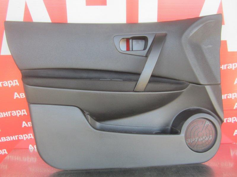 Обшивка двери Nissan Qashqai J10 J10 HR16 2013 передняя левая
