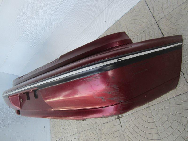 Бампер Daewoo Nexia A15MF 2007 задний