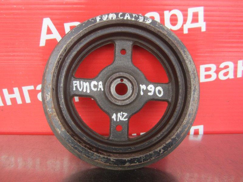 Шкив коленвала Toyota Funcargo 1NZ-FE