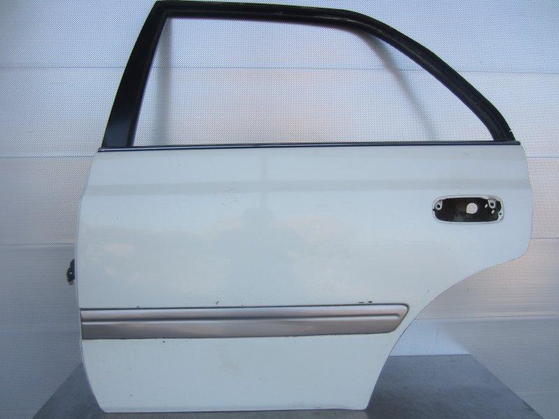 Дверь Toyota Corona Premio 210 1997 задняя левая