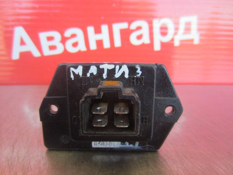Реостат печки Daewoo Matiz 2008