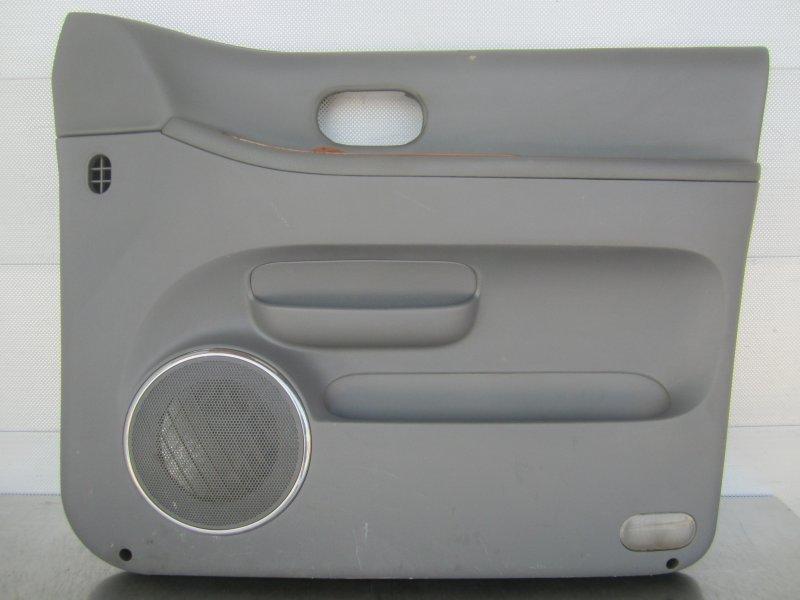 Обшивка двери Kia Carnival 2004 передняя правая