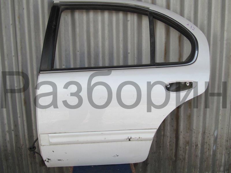 Дверь Nissan Maxima A32 1998 задняя левая